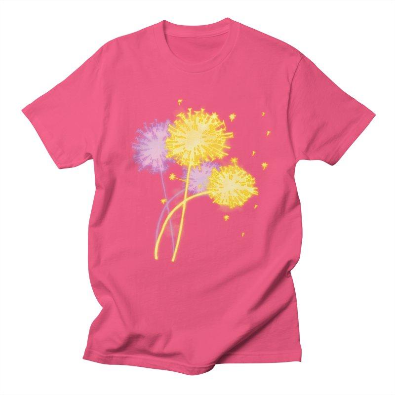 Dandelion Dreams Women's Regular Unisex T-Shirt by Bandit Bots