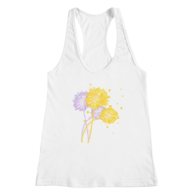 Dandelion Dreams Women's Tank by Bandit Bots