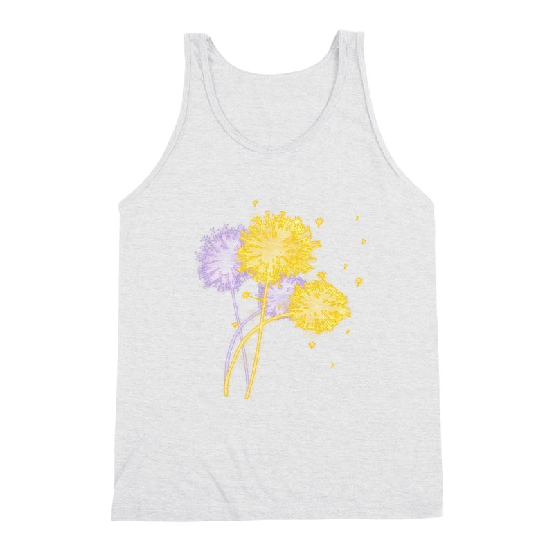 Dandelion Dreams Men's Tank by Bandit Bots