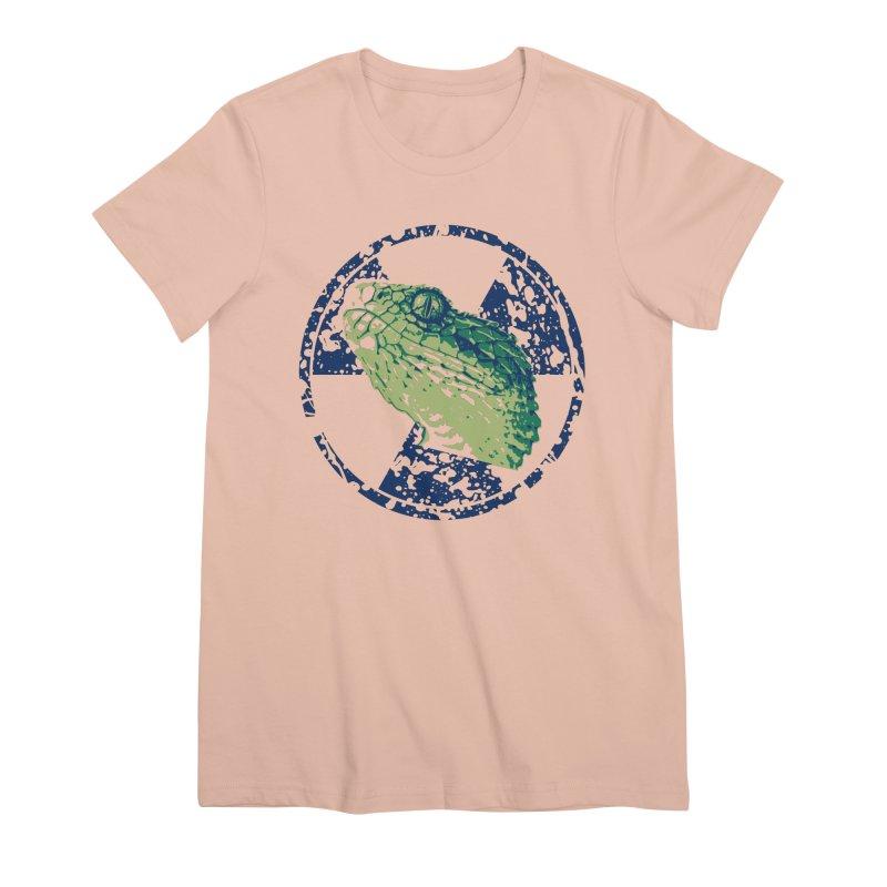 Rad Snek Women's Premium T-Shirt by Bandit Bots