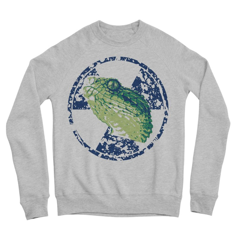 Rad Snek Men's Sponge Fleece Sweatshirt by Bandit Bots