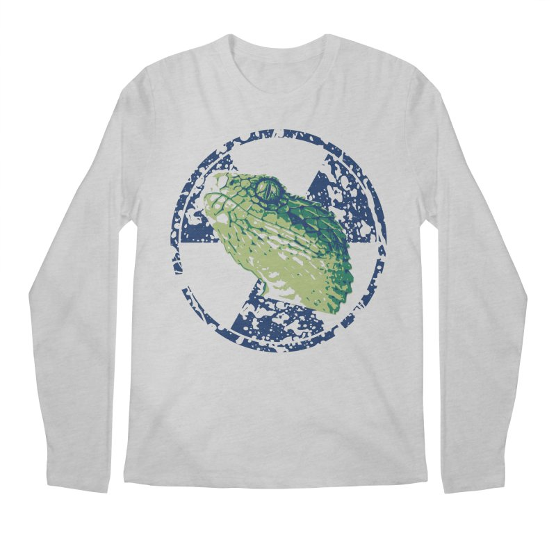 Rad Snek Men's Longsleeve T-Shirt by Bandit Bots