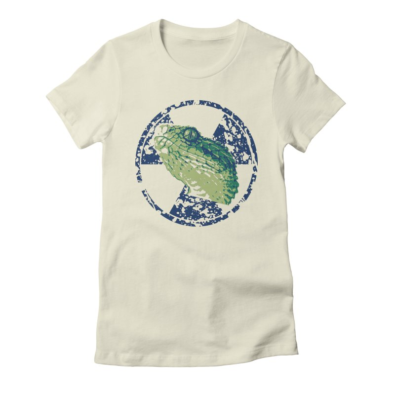 Rad Snek Women's Fitted T-Shirt by Bandit Bots