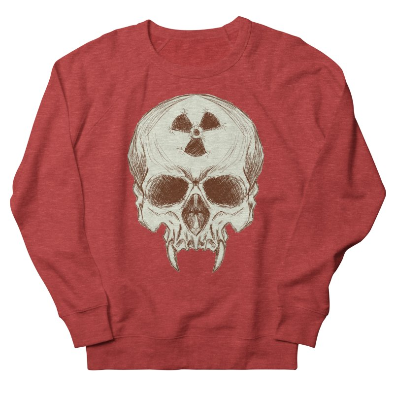 Night Shift Vampires Men's French Terry Sweatshirt by Bandit Bots