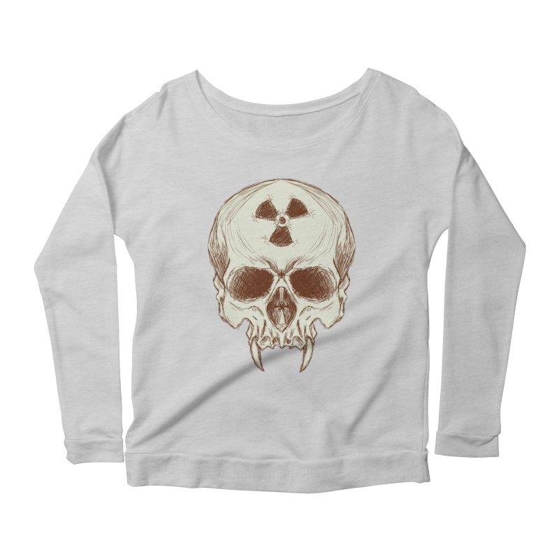 Night Shift Vampires Women's Scoop Neck Longsleeve T-Shirt by Bandit Bots