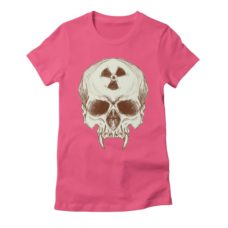 Night Shift Vampires Women's Fitted T-Shirt by Bandit Bots