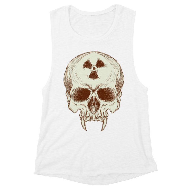 Night Shift Vampires Women's Muscle Tank by Bandit Bots