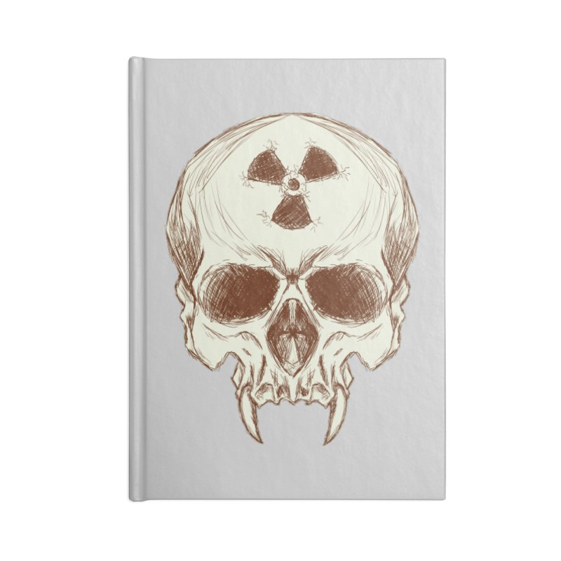 Night Shift Vampires Accessories Blank Journal Notebook by Bandit Bots