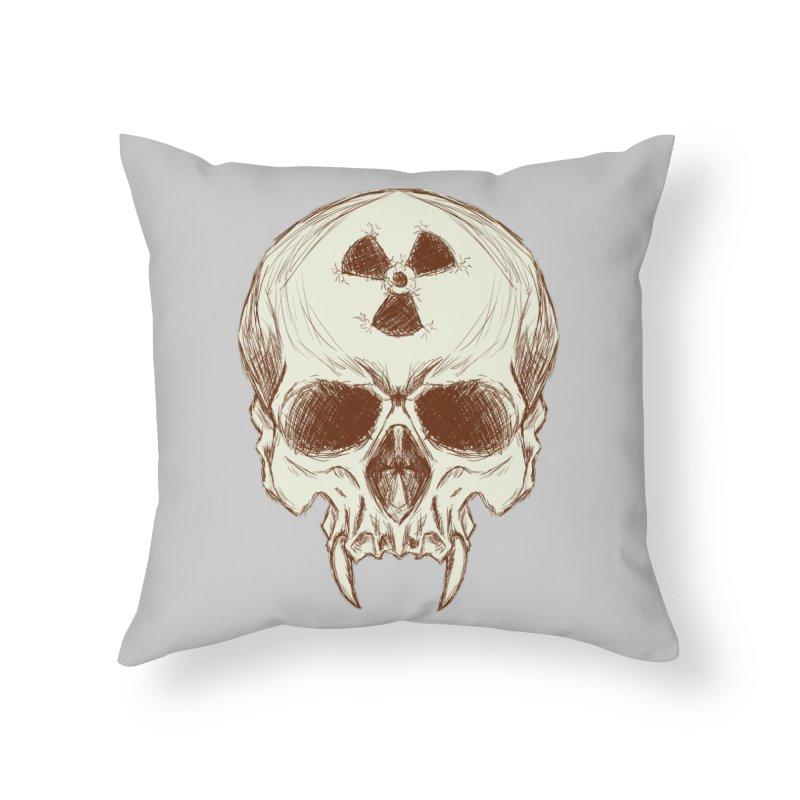 Night Shift Vampires Home Throw Pillow by Bandit Bots