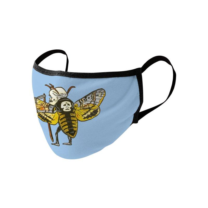 Death Head Moth Accessories Face Mask by BareBonesStudio's Artist Shop