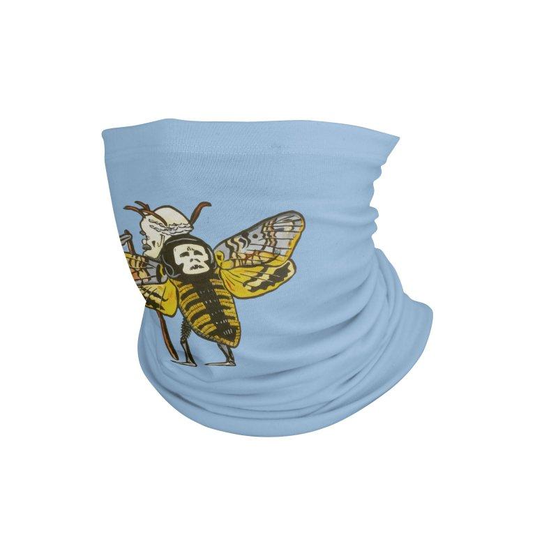 Death Head Moth Accessories Neck Gaiter by BareBonesStudio's Artist Shop