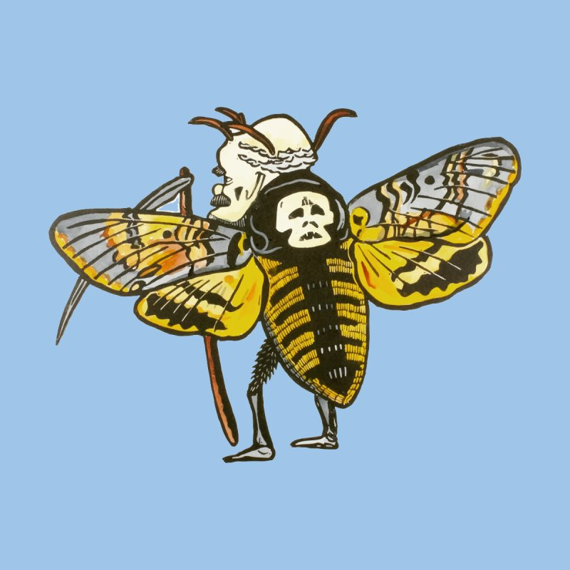 Death Head Moth Women's T-Shirt by BareBonesStudio's Artist Shop