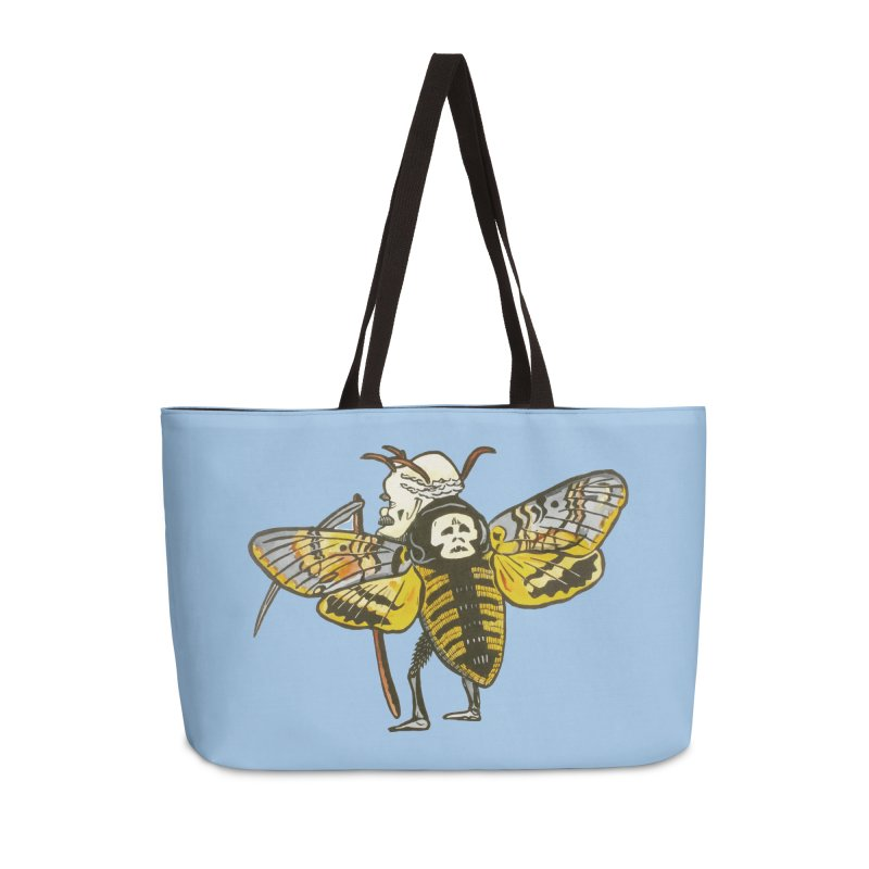 Death Head Moth Accessories Bag by BareBonesStudio's Artist Shop