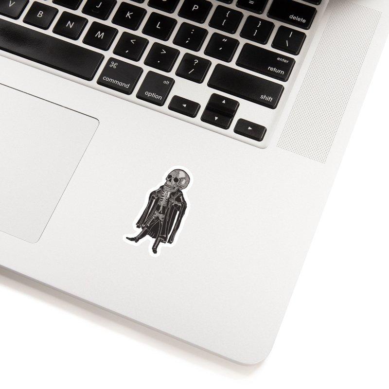 Judge, Jury & Executioner Accessories Sticker by BareBonesStudio's Artist Shop