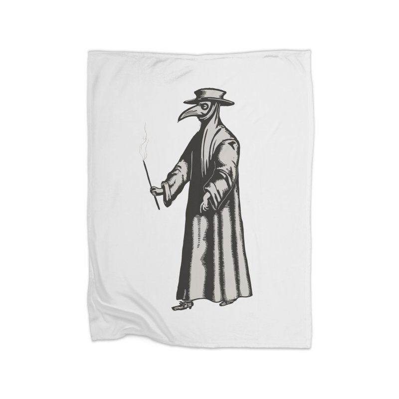 Plague Doctor Home Blanket by BareBonesStudio's Artist Shop