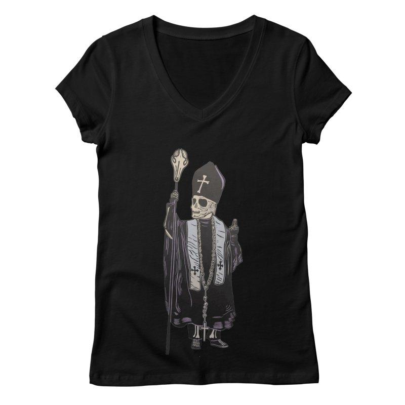 Pontifex Maximus DaDa Bobus I Women's V-Neck by BareBonesStudio's Artist Shop
