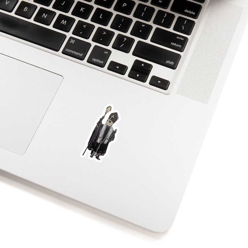 Pontifex Maximus DaDa Bobus I Accessories Sticker by BareBonesStudio's Artist Shop