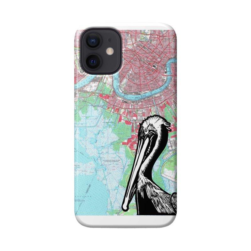 New Orleans Pelican Accessories Phone Case by BareBonesStudio's Artist Shop