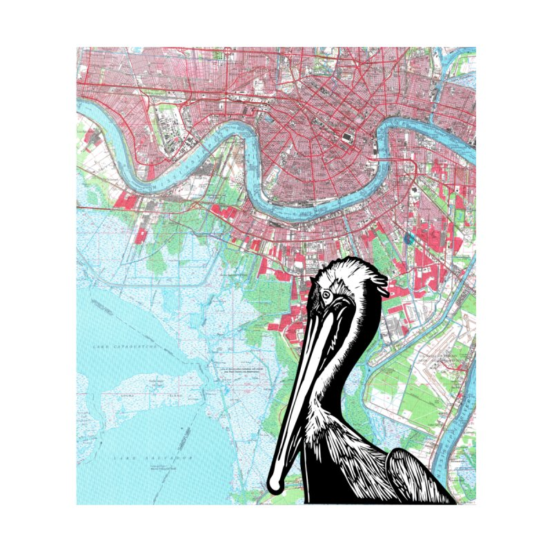 New Orleans Pelican Home Duvet by BareBonesStudio's Artist Shop