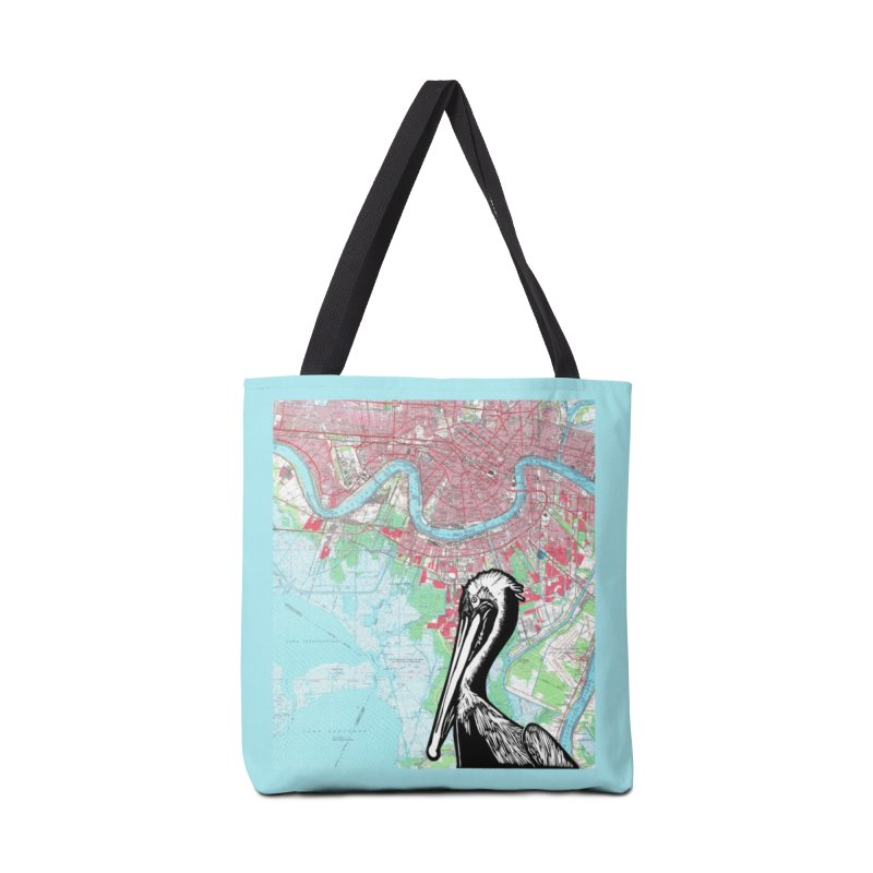 New Orleans Pelican Accessories Bag by BareBonesStudio's Artist Shop