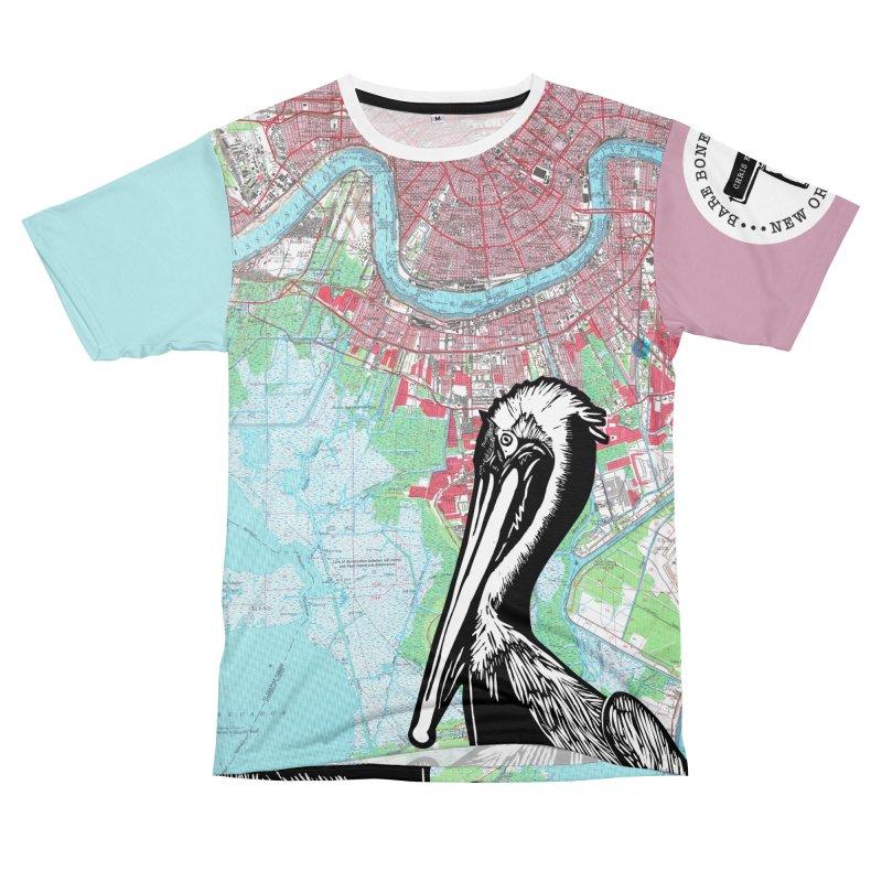 Pelican Pink & Blue Women's Cut & Sew by BareBonesStudio's Artist Shop