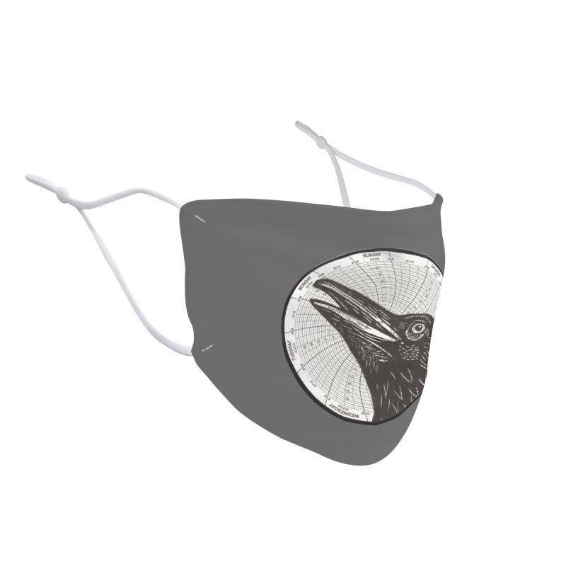 Calling Crow Accessories Face Mask by BareBonesStudio's Artist Shop