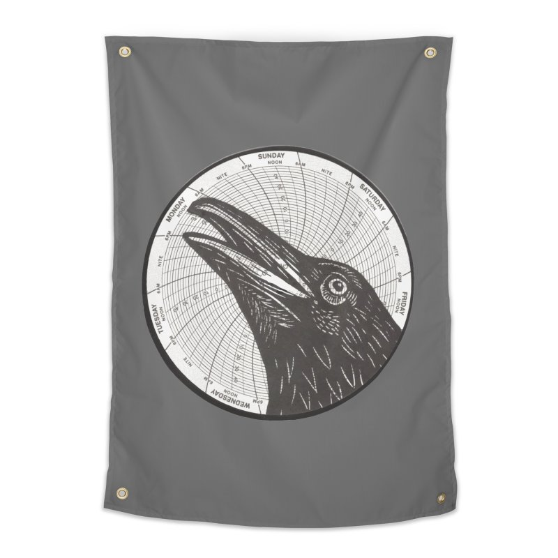 Calling Crow Home Tapestry by BareBonesStudio's Artist Shop