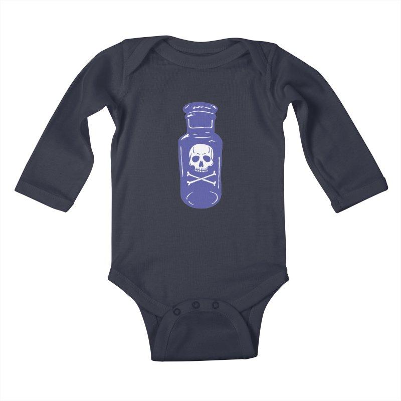 poison Kids Baby Longsleeve Bodysuit by BareBonesStudio's Artist Shop