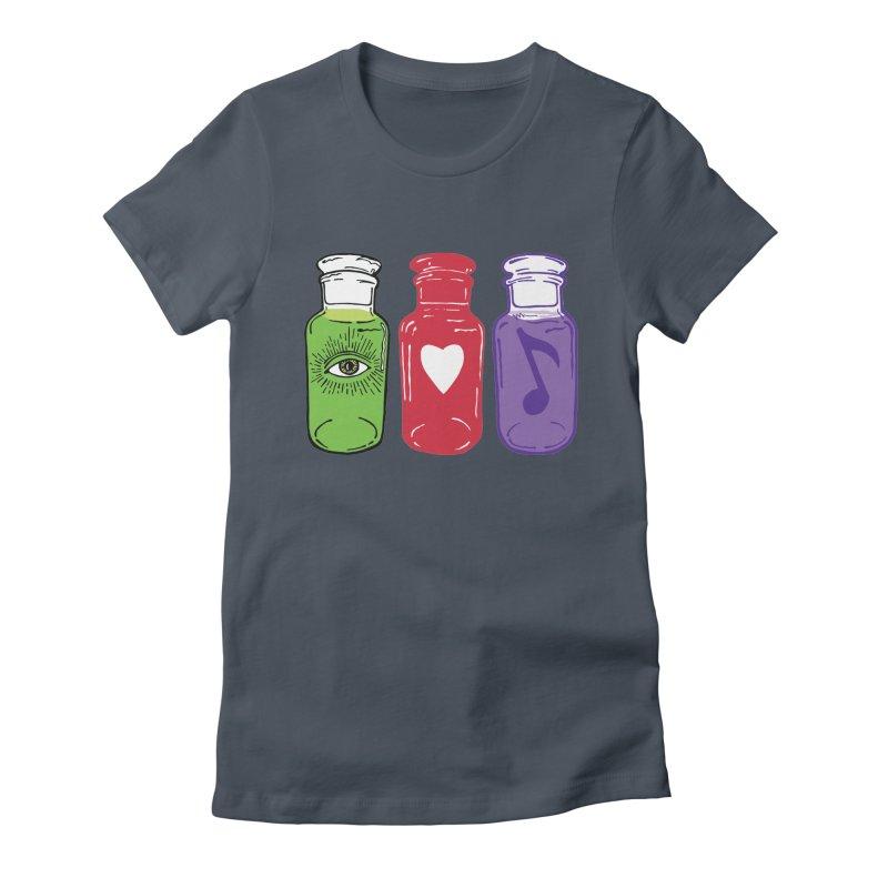 wisdom, love & harmony Women's T-Shirt by BareBonesStudio's Artist Shop