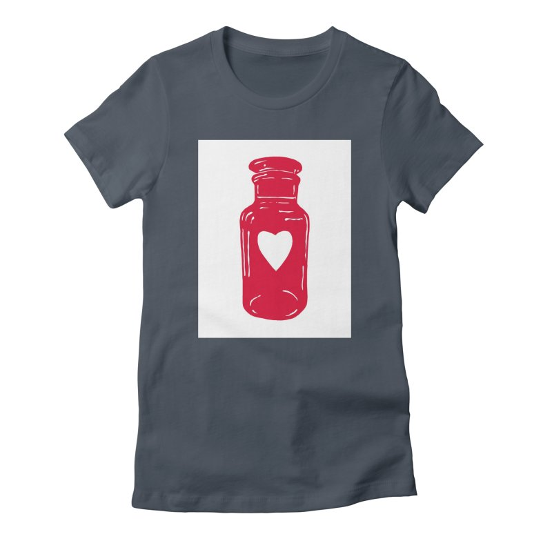 love potion Women's T-Shirt by BareBonesStudio's Artist Shop