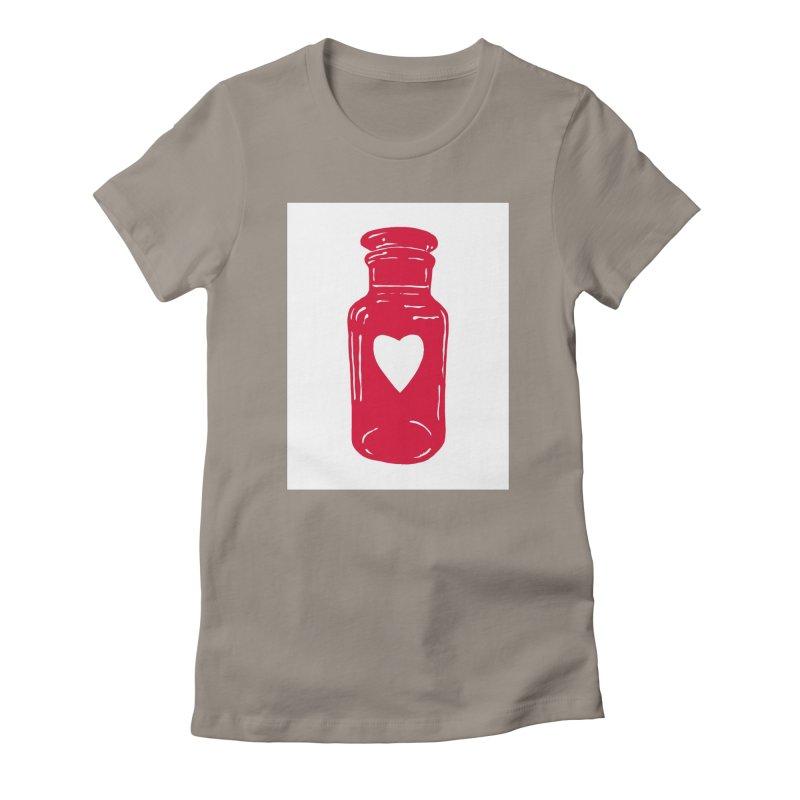 love potion Women's T-Shirt by BareBonesStudio's Artist Shop