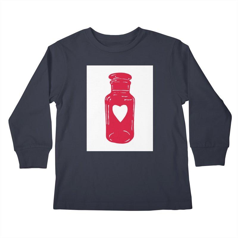 love potion Kids Longsleeve T-Shirt by BareBonesStudio's Artist Shop