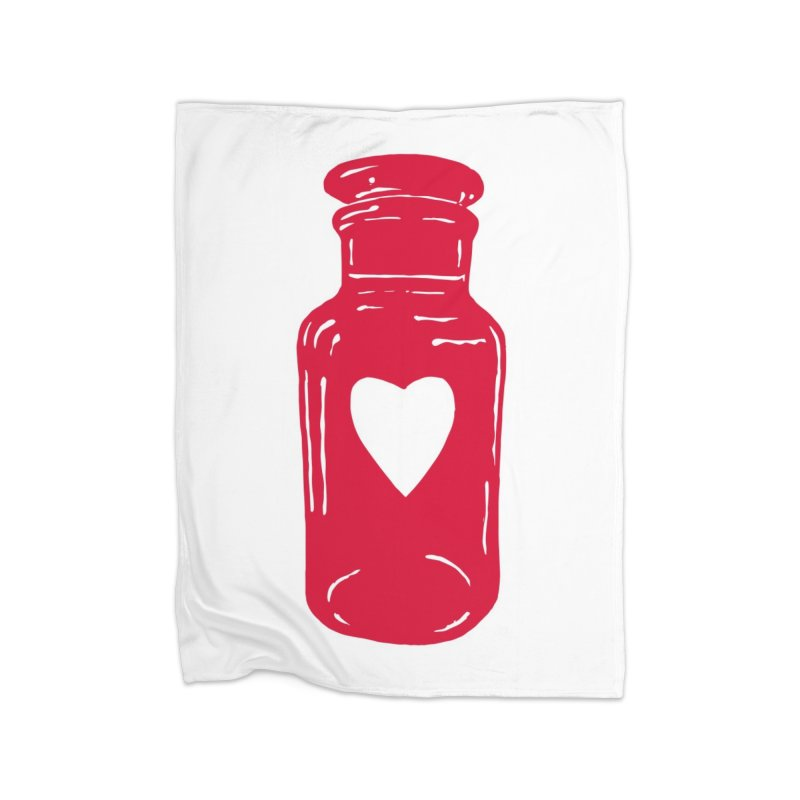 love potion Home Blanket by BareBonesStudio's Artist Shop