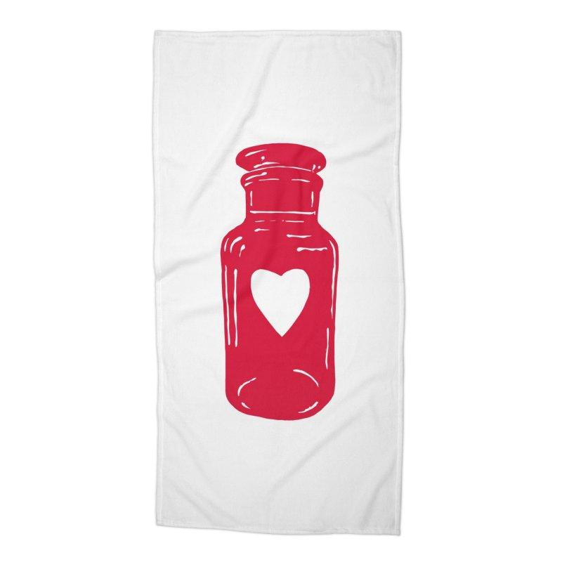 love potion Accessories Beach Towel by BareBonesStudio's Artist Shop