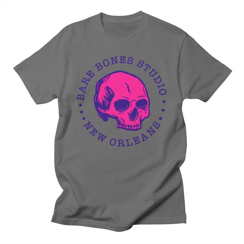 Bare Bones Studio Skull Men's T-Shirt by BareBonesStudio's Artist Shop