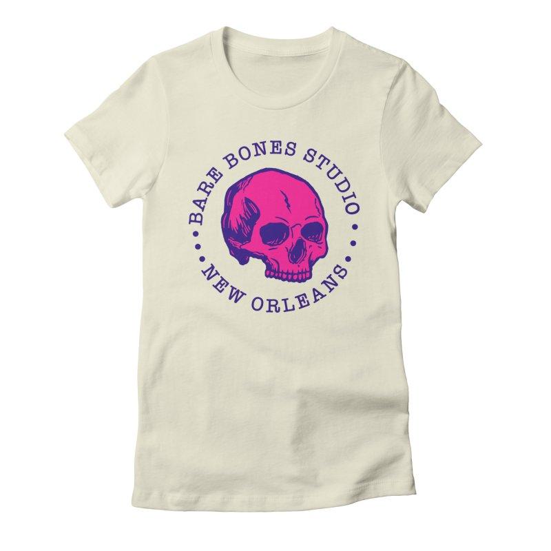 Bare Bones Studio Skull Women's T-Shirt by BareBonesStudio's Artist Shop