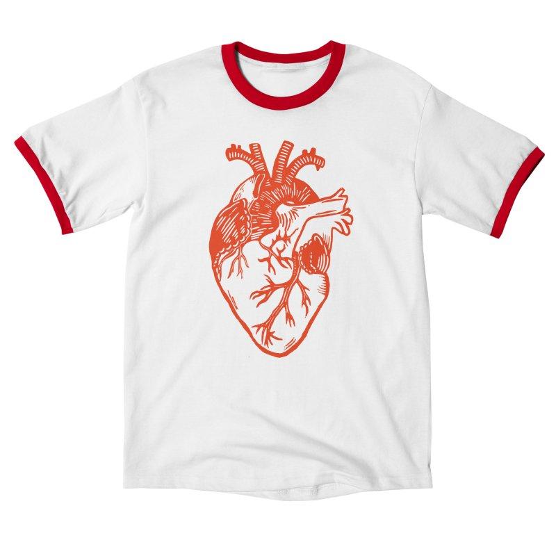 Heart Men's T-Shirt by BareBonesStudio's Artist Shop