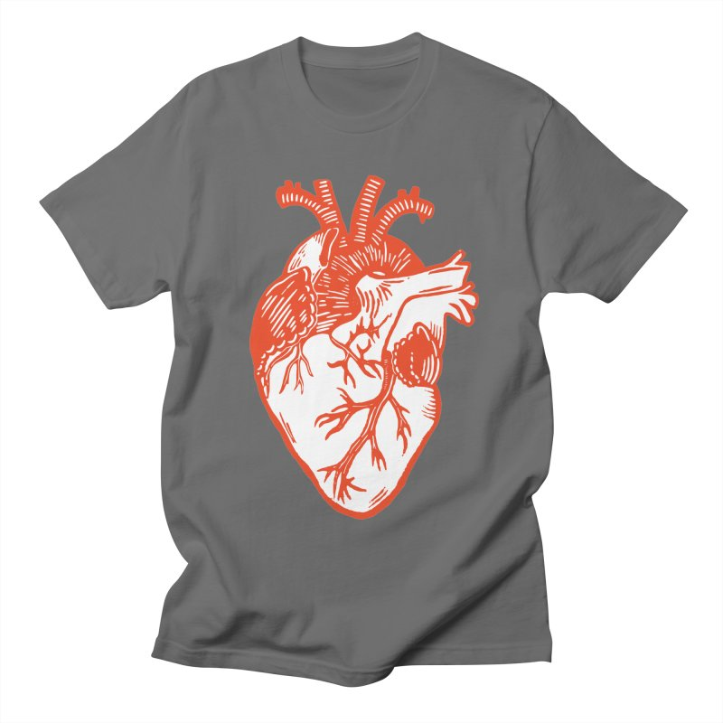 Heart Men's T-Shirt by BareBonesStudio's Artist Shop