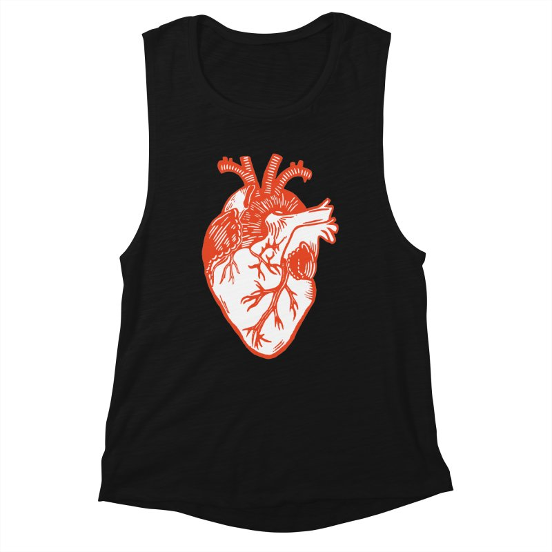 Heart Women's Tank by BareBonesStudio's Artist Shop