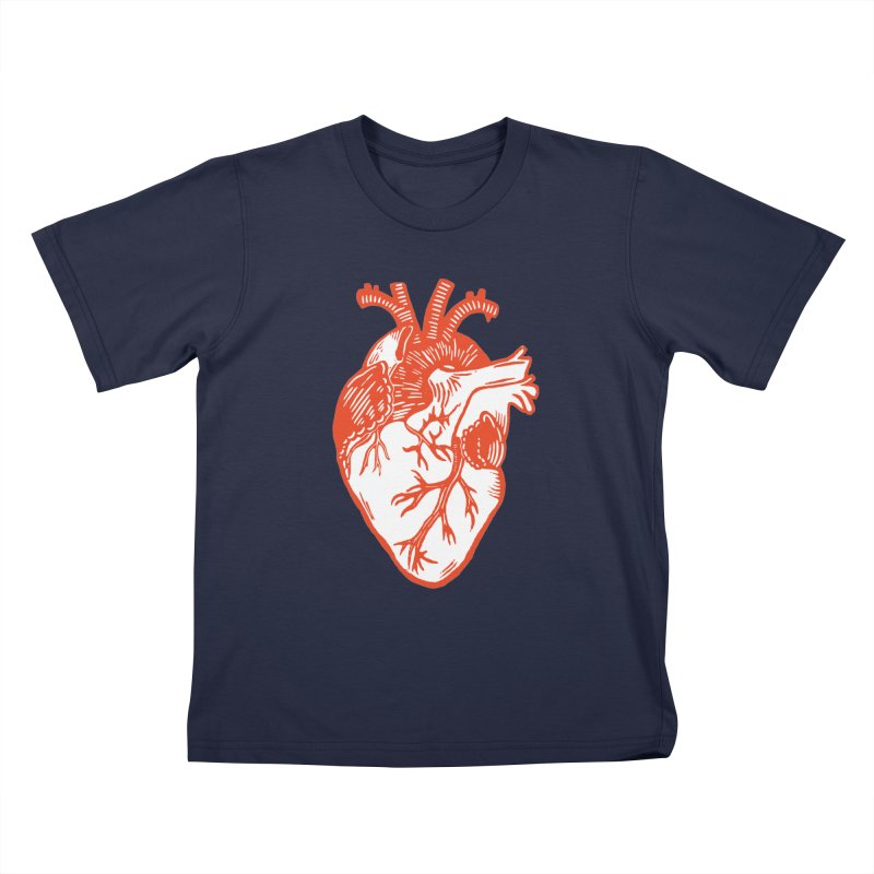 Heart Kids T-Shirt by BareBonesStudio's Artist Shop