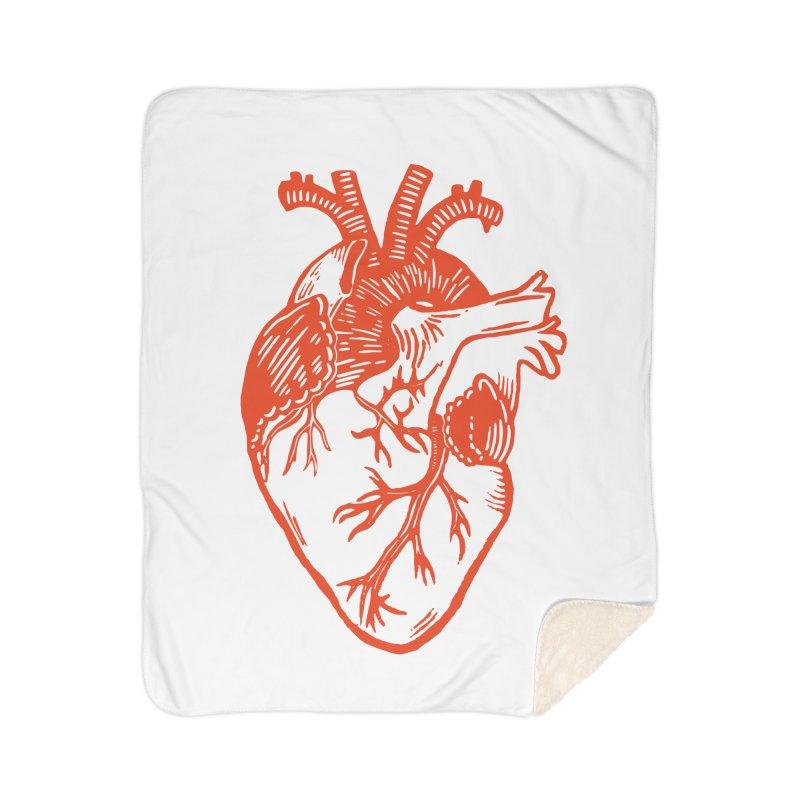 Heart Home Blanket by BareBonesStudio's Artist Shop