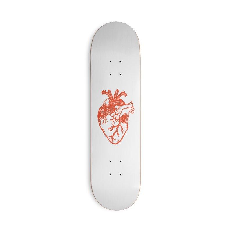 Heart Accessories Skateboard by BareBonesStudio's Artist Shop