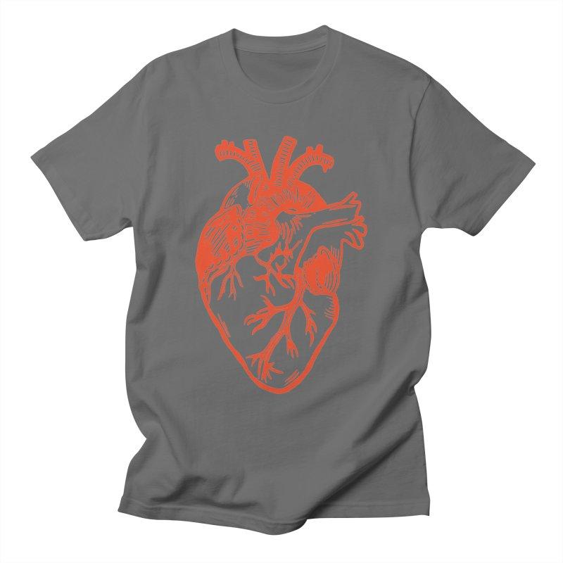 Clear Heart in Men's T-Shirt by BareBonesStudio's Artist Shop