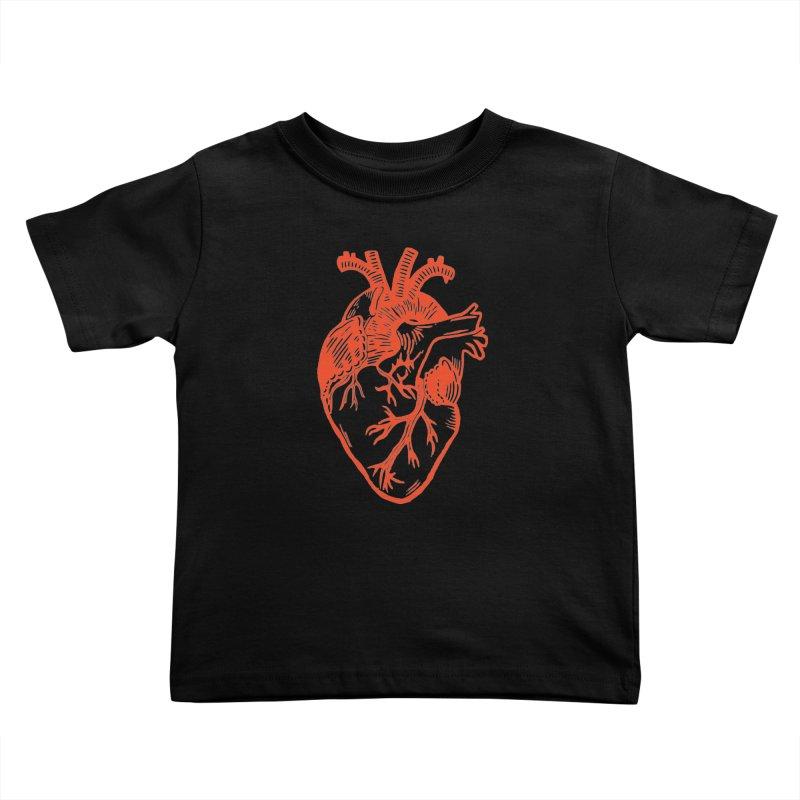 Clear Heart in Kids Toddler T-Shirt by BareBonesStudio's Artist Shop