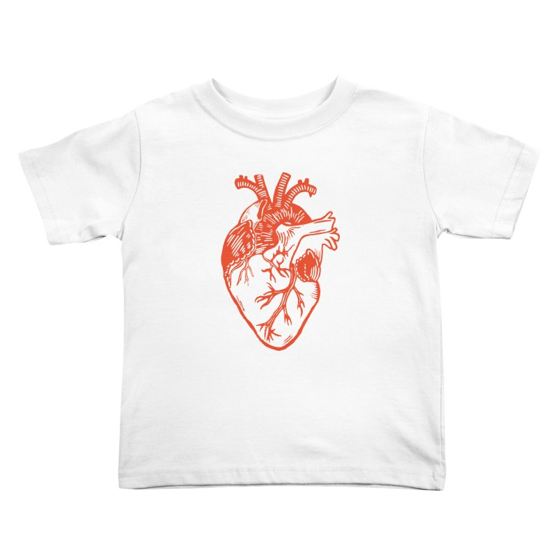 Clear Heart in Kids Toddler T-Shirt by BareBonesStudio's Artist Shop