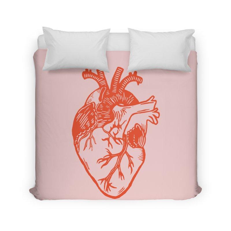 Clear Heart in Home Duvet by BareBonesStudio's Artist Shop