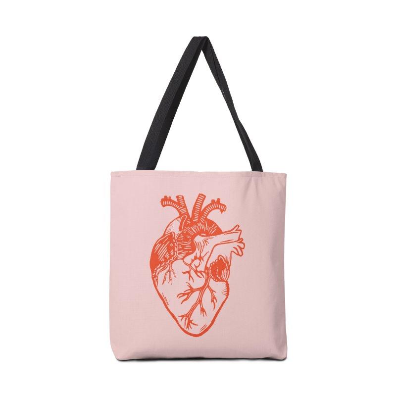 Clear Heart in Accessories Bag by BareBonesStudio's Artist Shop