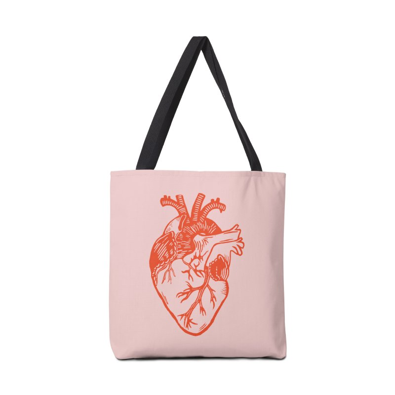 Clear Heart in Accessories Bag by BareBonesStudio's Artist Shop