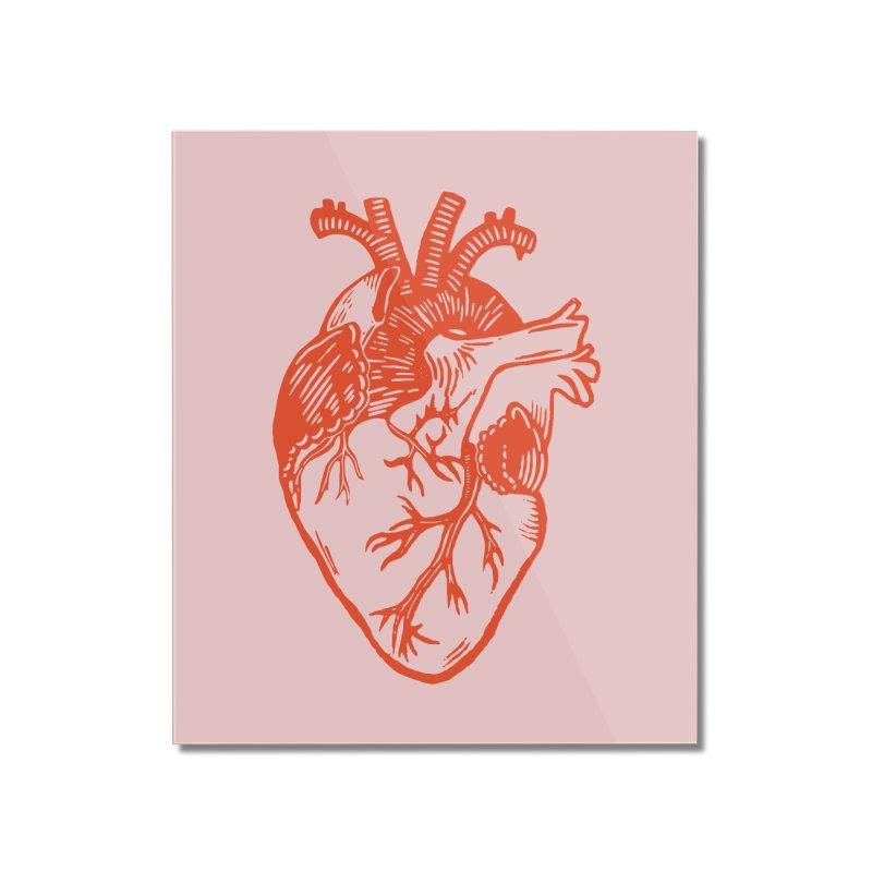 Clear Heart in Home Mounted Acrylic Print by BareBonesStudio's Artist Shop