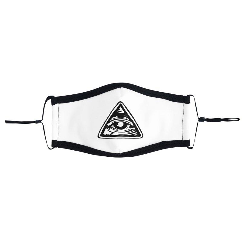 Mystic Eye Accessories Face Mask by BareBonesStudio's Artist Shop